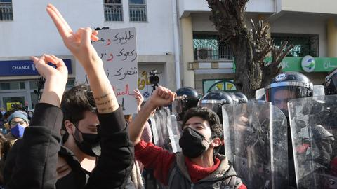 Tunisia holds tense confidence vote on new cabinet amid protests