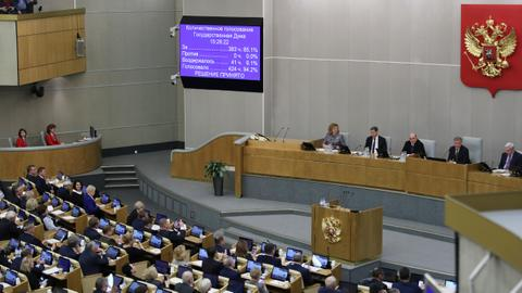 Russia's Parliament ratifies extension of nuclear arms pact with US
