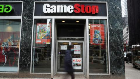 Epic battle over GameStop as retail traders take on Wall Street