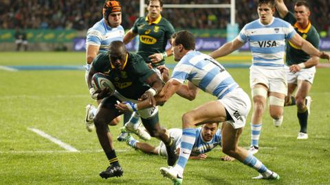 South Africa win physical battle to down Argentina