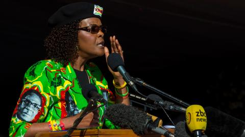 Grace Mugabe granted diplomatic immunity by South Africa in assault case