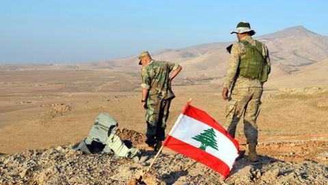 Landmine kills three Lebanese soldiers along Syrian border