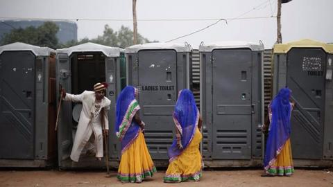 An Indian woman can now divorce her husband over no toilet in their house