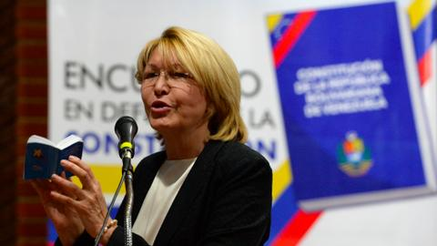 Colombia lends a hand to Venezuela's sacked chief prosecutor
