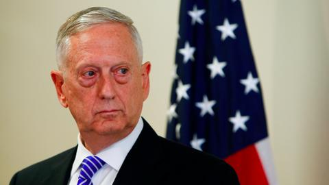 US Defense Secretary Jim Mattis makes unannounced trip to Iraq