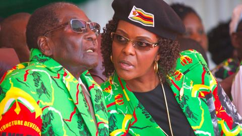 Grace Mugabe fights to win in Zimbabwe's Game of Thrones