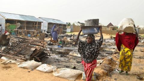 UN slams Boko Haram's use of children as suicide bombers in Nigeria