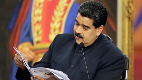 Venezuela's Maduro says relations with US at an all-time low
