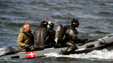 Torso found in Danish waters belongs to missing Swedish journalist