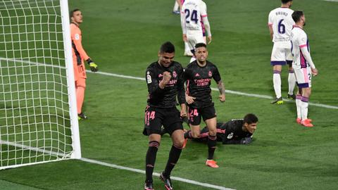 Madrid moves closer to the top in Spain as Atletico stalls