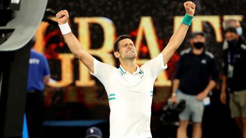 Dominant Djokovic beats Medvedev to win ninth Australian Open