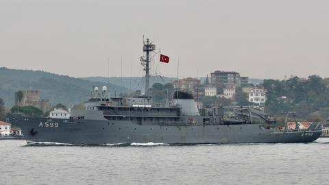 Turkey accuses Greek fighter jets of harassing research ship in Aegean Sea