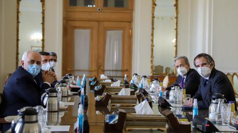IAEA: Iran enriching uranium up to 20 percent