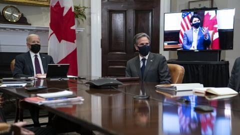 Biden, Trudeau reset strained US-Canada ties