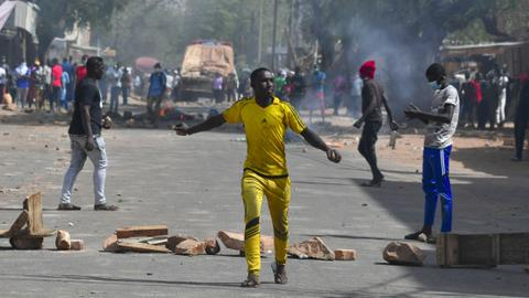 Protesters clash with police as Niger opposition claims election win
