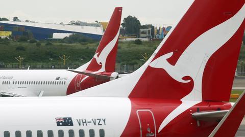 Qantas posts $5.5B loss, delays international flights to October