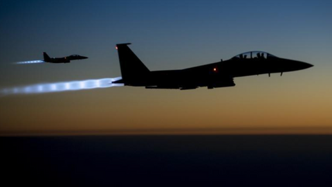 US bombs Iranian militia facilities in Syria