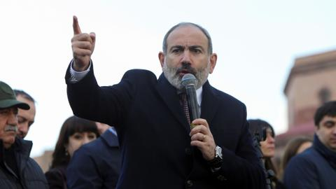 From protester to embattled Armenian PM: Nikol Pashinyan's fall from grace