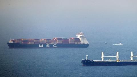 Israeli-owned ship hit by explosion in Gulf of Oman