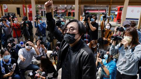 Dozens of Hong Kong activists detained on charges of subversion