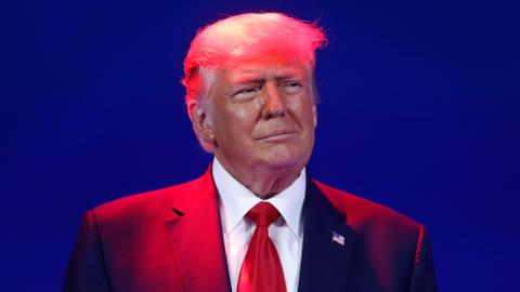 Where is Donald Trump?