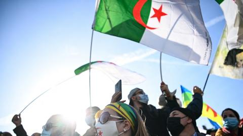 Riots break out in Algeria over jailing of activist