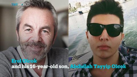 Erol Olcok, a prominent advertiser, and his son, both died during the #attemptedcoup in #Turkey