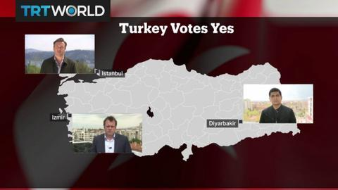 "Turkey Votes Yes: Reaction in Turkey to ""Yes"" victory in referendum"