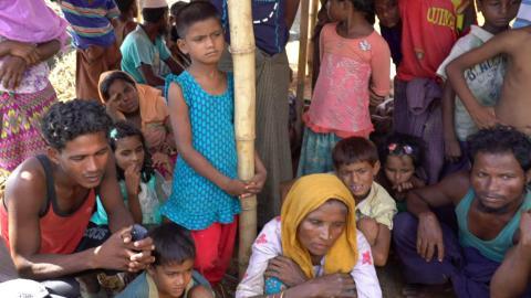Rohingya Refugees Crisis: Rain and evictions add to Rohingya