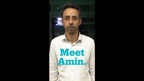 Meet Amin, a Syrian aid worker in Gaziantep