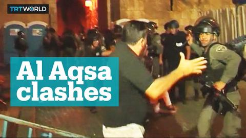 Tensions are high in Al Aqsa