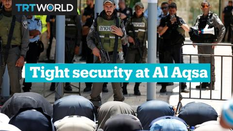 Israel's new security measures at Al Aqsa mosque anger Palestinians