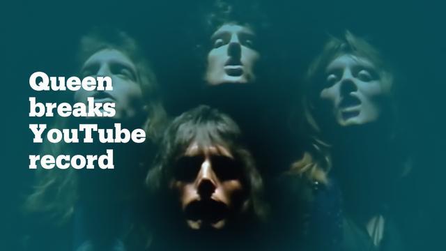 Bohemian Rhapsody' breaks YouTube record