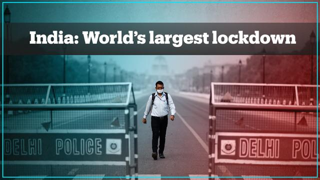 India declares the world's largest lockdown - TRT World