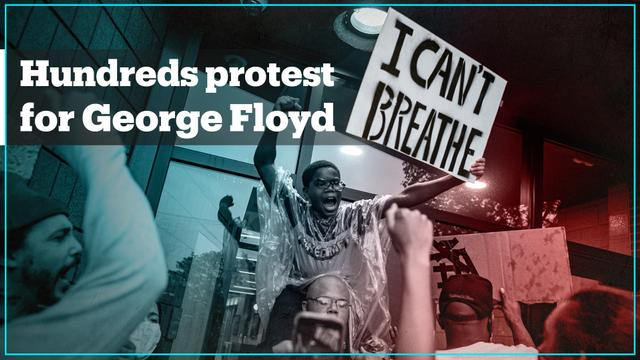 Thousands protest in US over death of George Floyd - TRT World