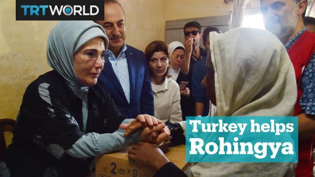 Turkey's humanitarian aid to Rohingya