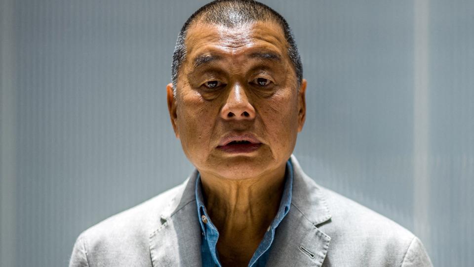 Ông trùm truyền thông triệu phú Jimmy Lai ở Hồng Kông vào ngày 16 tháng 6 năm 2020. (AFP)