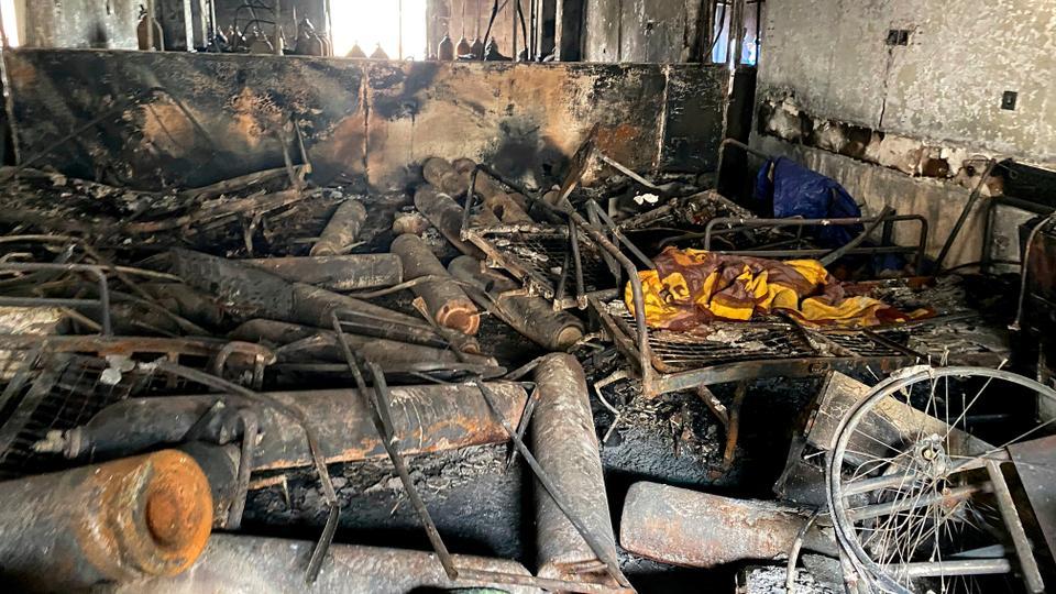 Iraq Covid ward fire kills dozens of patients