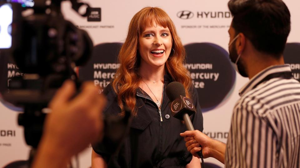 Composer Hannah Peel is interviewed following her nomination in the Hyundai Mercury Prize