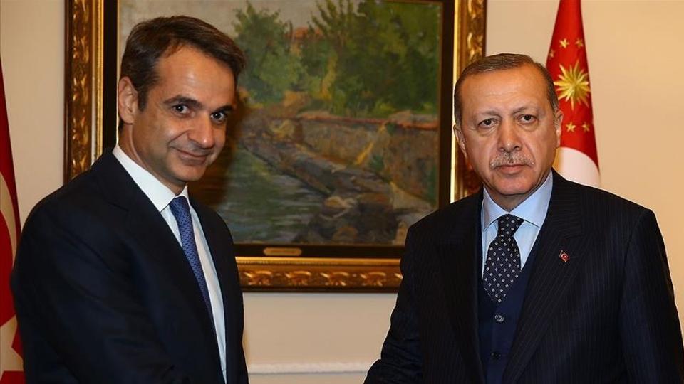 Turkey's Erdogan, Greece's Mitsotakis discuss Afghanistan, migration