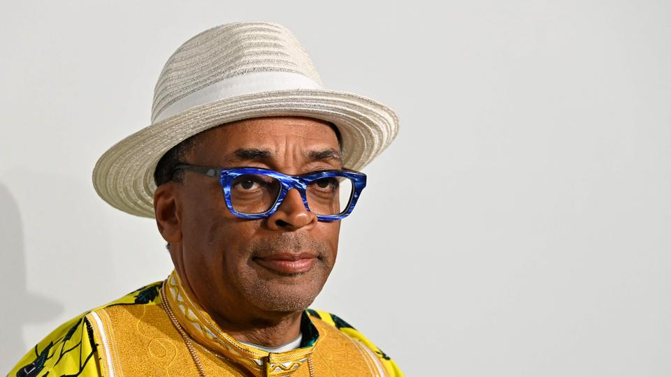 In this file photo taken on July 16, 2021, US director Spike Lee arrives to attend the amfAR 27th Annual Cinema Against AIDS gala at the Villa Eilenroc in Cap d'Antibes, southern France, on the sidelines of the 74th Cannes Film Festival.