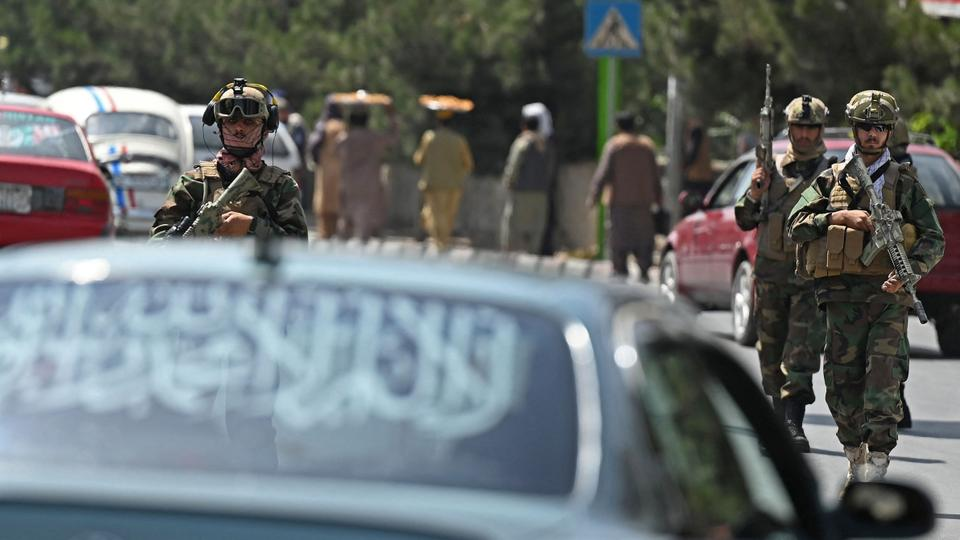 Taliban Fateh fighters, a