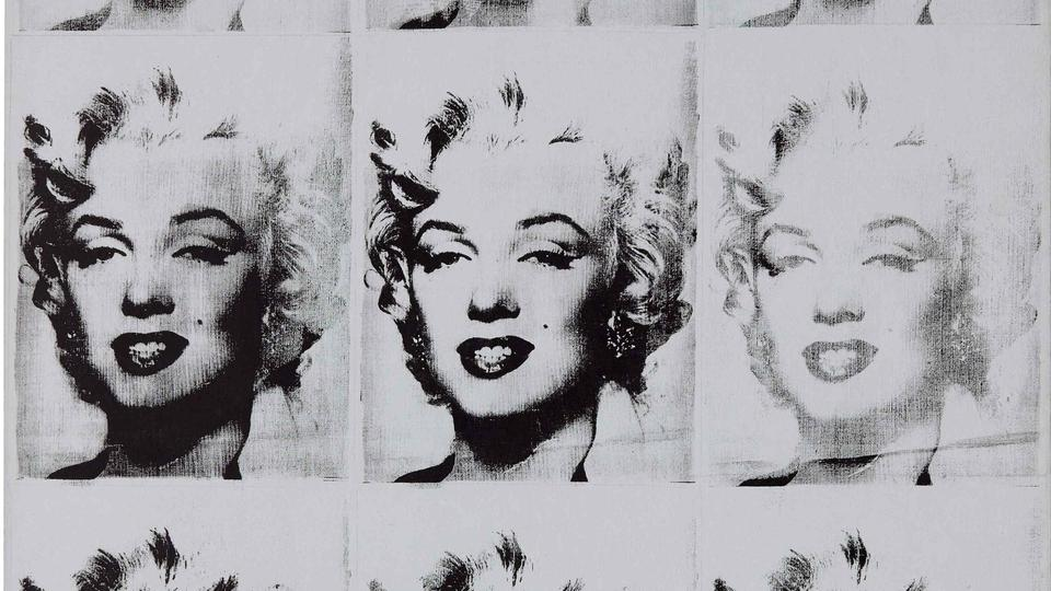 This undated image courtesy of Sotheby's shows Andy Warhol's