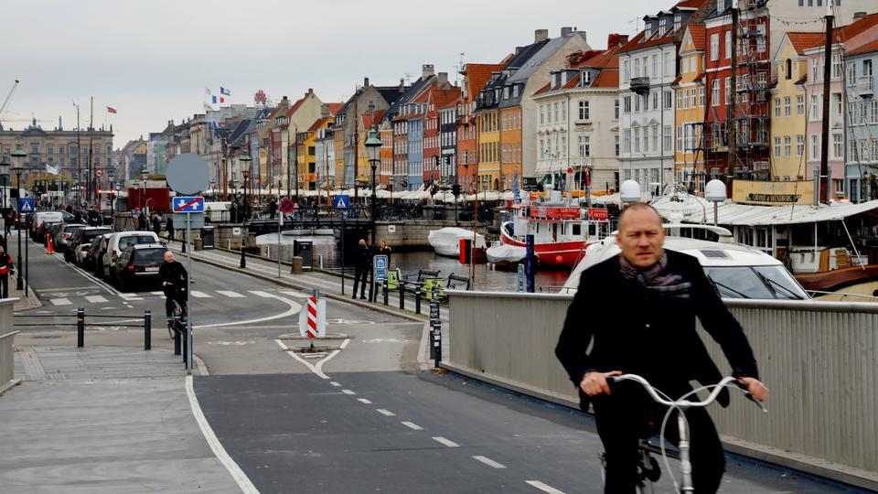 A view of the Nyhavn district in Copenhagen, Denmark October 22, 2019.