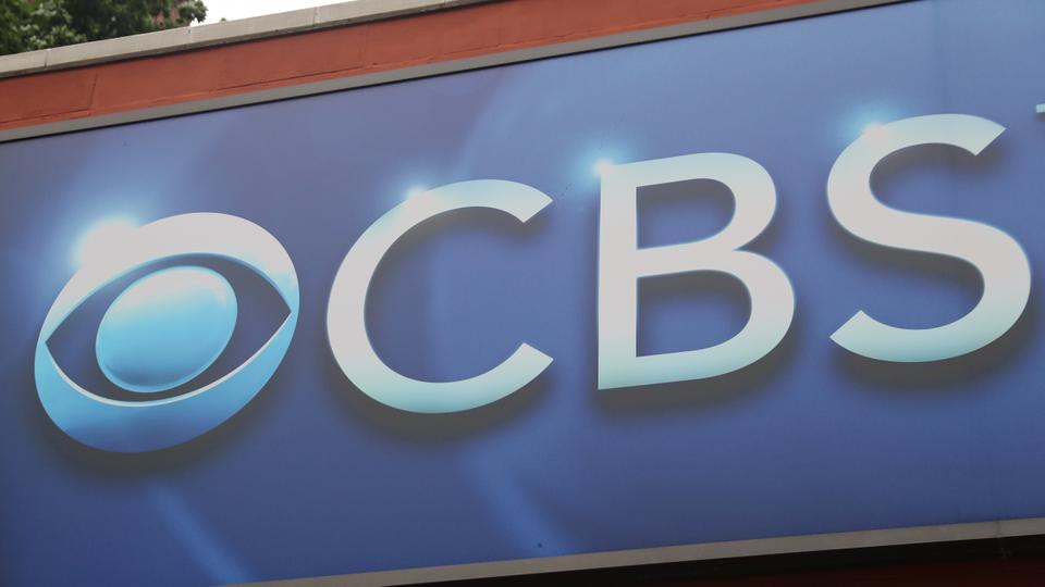The CBS Broadcast logo is seen outside the CBS Broadcast Center in Manhattan, New York, the United States, July 30, 2018.