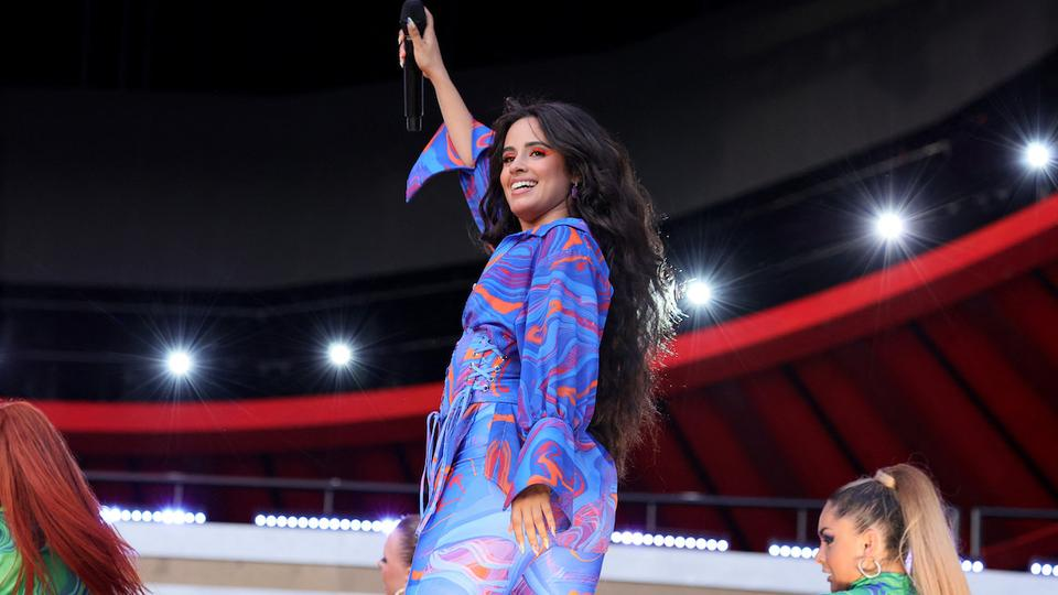 Camila Cabello performs onstage during Global Citizen Live, New York on September 25, 2021 in New York City.