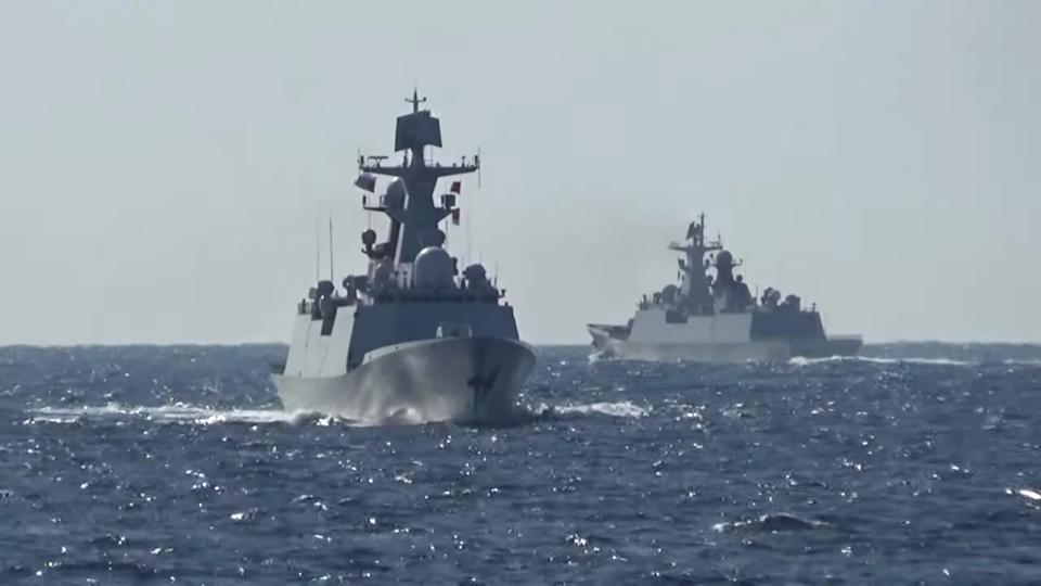 Tsugaru Strait is regarded as international waters.