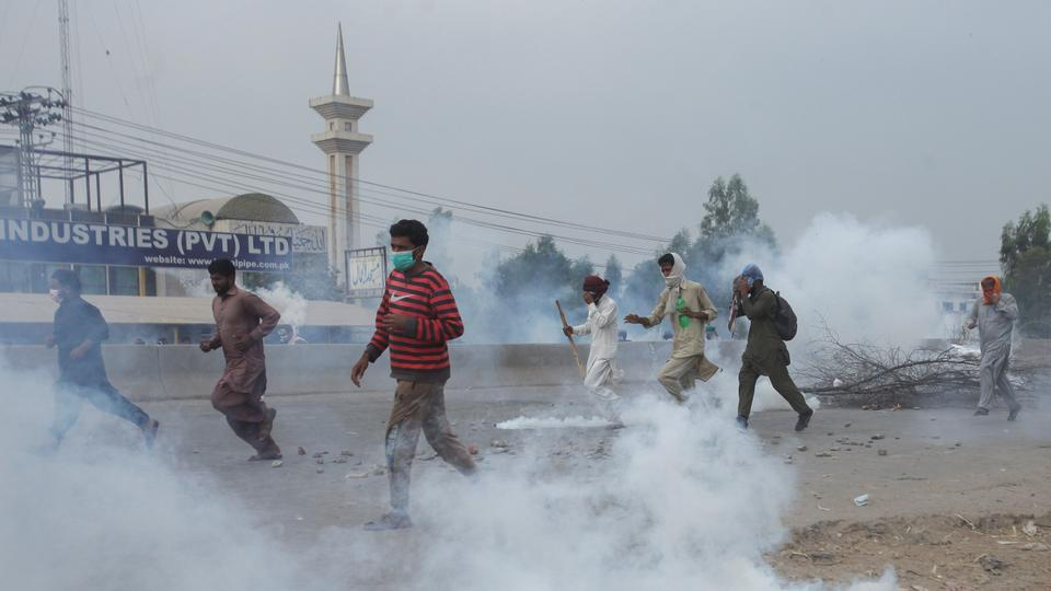 Tehreek-e-Labbaik Pakistan has a history of staging violent protests to pressure the government to accept its demands.
