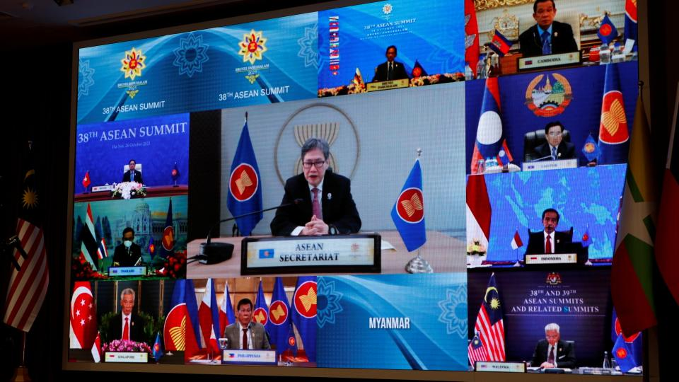 ASEAN blames Myanmar junta for its failure to make steps to end hostilities and initiate dialogue with civilian leaders.