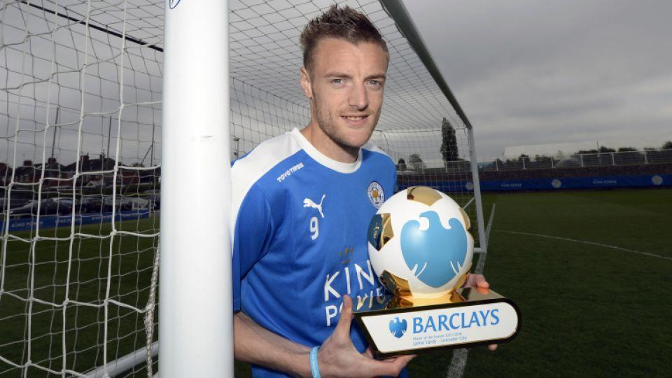 Leicester's Vardy chosen Premier League Player of the Season